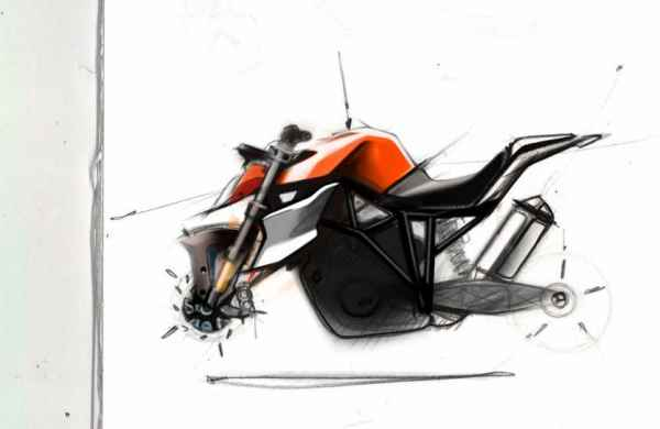 03 KTM 1290 SUPER DUKE sketch