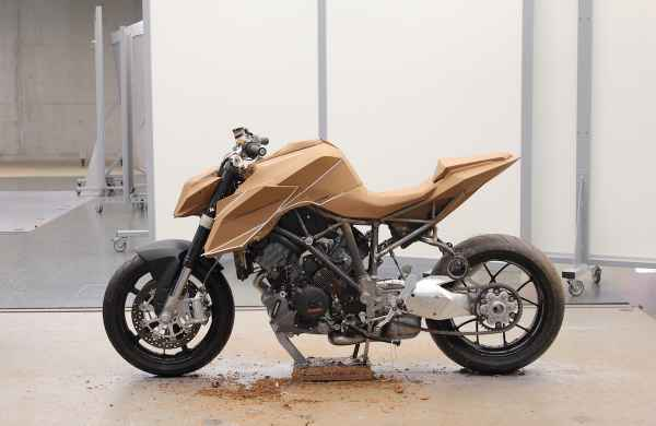 05 KTM 1290 SUPER DUKE Clay Model