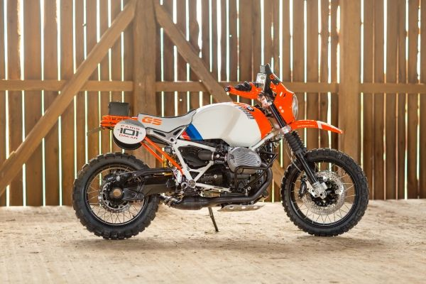 Film: BMW R nineT - Concept Lac Rose